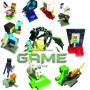 Фигурки статуэтки с персонажами Майнкрафт | Minecraft