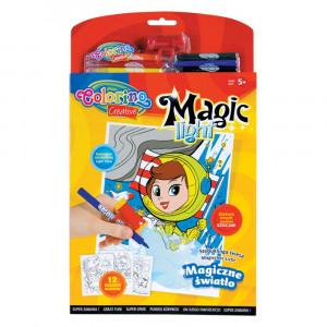 Набір фарб Магічний ліхтарик Colorino 6 фломастерів (31936PTR)