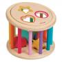 Іграшка-сортер для розвитку Барабан з формами дерево (J05336)