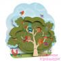 Настінна іграшка Oribel Veritiplay Будинок пана Білки на дереві (OR801-90001)