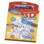 Набір для дитячої творчості Чарівна книжечка З'єднай точки 3D Colorino 12 малюнків (31905PTR)