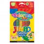 Олівці кольорові Colorino Jumbo 6 кольорів з точилкою (33121PTR)