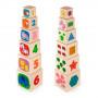 Набір кубиків Viga Toys Вежа (50392)