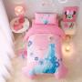 """Детское постельное белье """"Frozen"""" на детскую кроватку с завязками"""